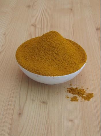 Curry macinat